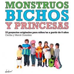LIBRO DESEDAMAS MONSTRUOS BICHOS Y PRINCESAS